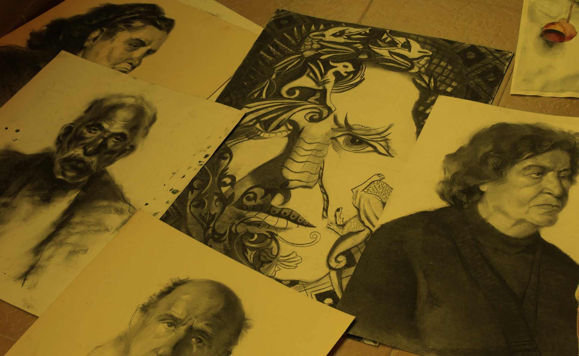 Уроци по рисуване - портрети