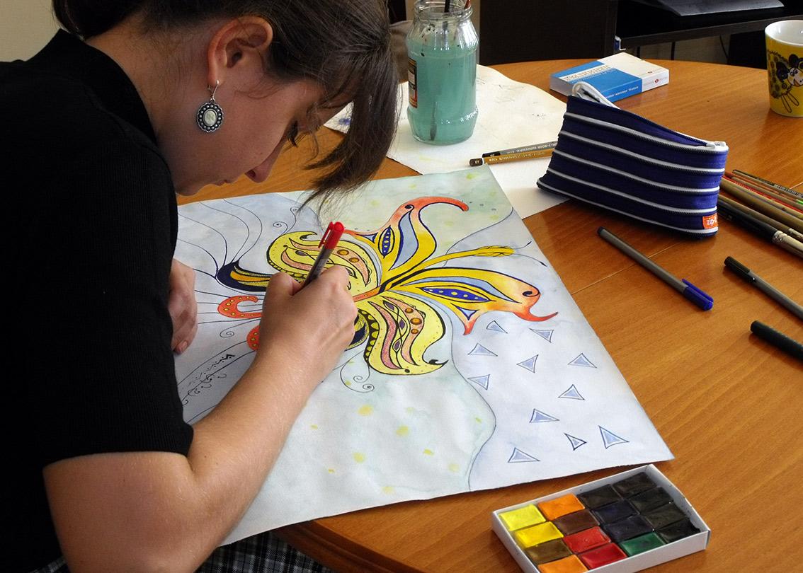 Кандидатстване с рисуване