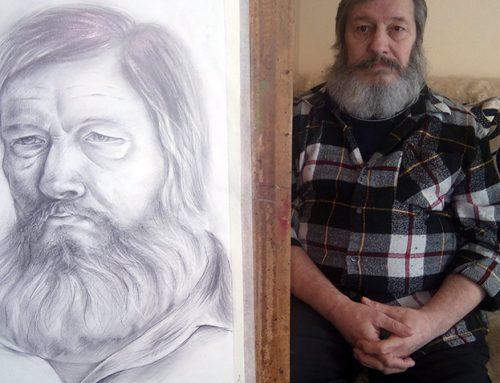 Рисуване на портрет от натура