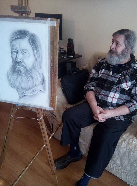 рисуване с молив, човешка фигура